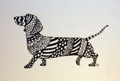 dachshund (: