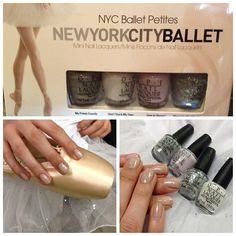 OPI team up with NYCB. looks like i found my new favorite colors