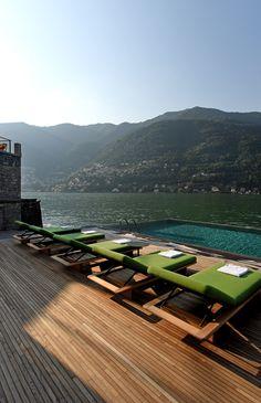 Il Sereno - Lake Como - Italy by Patricia Urquiola