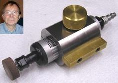 tool post grinders for a lathe | Dick Kostelnicek showed an air operated tool post grinder patterned ...