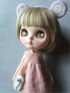 *HKC*blythe outfit ピンク系4点セット_画像1