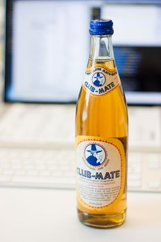Club-Mate - keeps you up at night, you get used to it :D