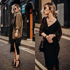 Get this look: http://lb.nu/look/8350565  More looks by Masha Sedgwick: http://lb.nu/mashasedgwick  Items in this look:  By Malene Birger Dress, Alexander Wang Coat   #chic #edgy #elegant
