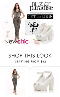 """""""Newchic 5"""" by amrakaric ❤ liked on Polyvore"""
