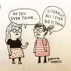 Overthinking is my superpower. #introvertproblems #INTJ