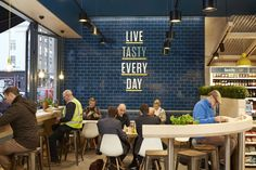 Design showcase: Centra rethinks convenience stores in Ireland - Retail Design… Design Café, Cafe Design, Store Design, Restaurant Design, Restaurant Bar, Luxury Restaurant, Limerick Ireland, Fish And Chip Shop, Food Retail