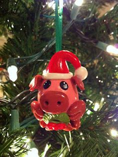 Cute Clay ornament tut from Sarah @ Spicy Pinecone