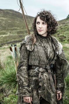Young Shield Sister   (Ellie Kendrick as Meera Reed-photo Helen Sloan/HBO) For further reference
