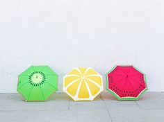 Fruit Slice Umbrellas   21 DIY Projects That Are Perfect For Rainy Days