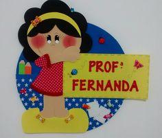 Placa de porta para identificar e decorar sua sala de aula.    Podem ser produzidas de acordo com a sua preferência!!!