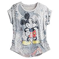 Mickey Mouse Dolman Knit Top for Women