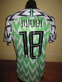 bb954298304 Amazon.com   PALMPOND IWOBI 18 NIGERIA HOME SOCCER JERSEY WORLDCUP 2018  (GREEN