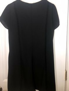 269c1b89d258 NEW Sexy Zara Black Skort Romper Size M Pockets Vneck cute buttobs