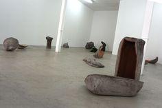 """""""Matriz y Perversión de la Forma I"""", Sara Ramo #Exposición """"Los Ayudantes"""" Galería Travesía Cuatro #Madrid #Arte #Art #ContemporaryArt #ArteContemporáneo #Escultura #Arterecord 2016 https://twitter.com/arterecord"""
