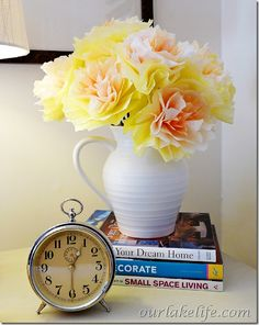 Paper Posies A Diy Flower Bouquet