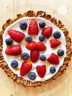 Yogurt, Pizza Dolce, Confort Food, Sweets Cake, Biscotti, Vegan Cake, Healthy Recipes, Healthy Food, Cheesecake