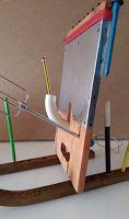 Antiriflesso, specchio matitiera
