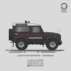 KombiT1: Land Rover Defender - Carabinieri - Tap the link to shop on our official online store! You can also join our affiliate and/or rewards programs for FREE!