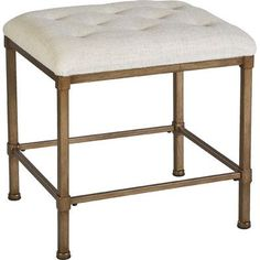 Bay Isle Home Clarendon Backless Vanity Stool