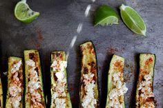 Joy The Baker. Charred Mexican Zucchini.