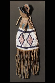 Blackfoot, 1903.  Paint bag. Full Image and Description   Anthropology