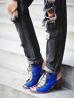 Free People Minimal Lace Up Heel, $178.00