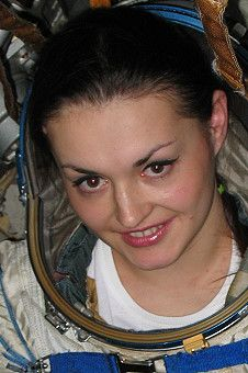 Yelena Serova, Russian Cosmonaut selected for an ISS trip in 2014. Only the third female cosmonaut scheduled for a mission, and first since 1997.