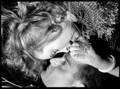 Double portrait tête-bêche by François Kollar (via) Bob Dylan, In This Moment, Couples, Artwork, Photography, Life, Kisses, Forget, Portraits