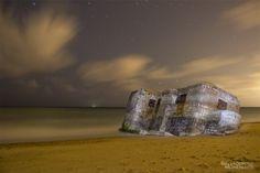 Bunker, San Fernando Foto: Salvador Moreno #photo  #Nocturna