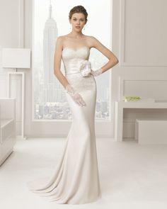 Sabia vestido de novia Rosa Clara