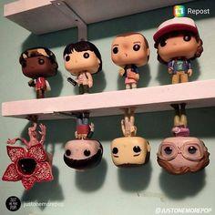 """481 Likes, 14 Comments - Figurine Pop (@figurinepop) on Instagram: """"Une idée de déco ? #strangerthings #funkopop #funko #figurinepop #funkocollection #funkoaddict…"""""""