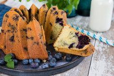 Enkel och otroligt god sockerkaka med blåbär!