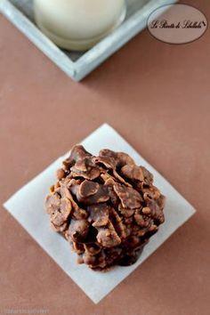 rose del deserto alla Nutella Mini Desserts, Sweet Desserts, Sweet Recipes, Cookie Recipes, Dessert Recipes, Biscotti Cookies, Italian Cookies, Wonderful Recipe, Sweet Cakes