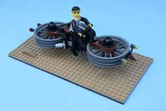 Technic guy hoverbike   by redfern1950s