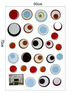 Bigbvg Easy Instant Home Decor Wall Sticker Decal - Rings by simde, http://www.amazon.com/dp/B008HJVGPO/ref=cm_sw_r_pi_dp_eKebqb1K47R7F
