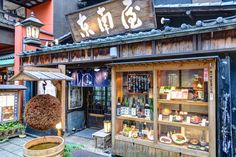 Traditional japanese rastaurant in Asakusa district, Tokyo