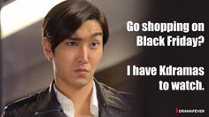 Lol...holidays mean more kdrama time.