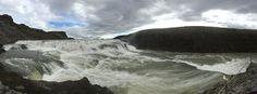 Aterrizando: La Cascada de Oro, Gullfoss, en Islandia