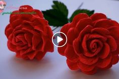 Embroidery Flower Patterns Como hacer flores Nochebuena a Crochet en punto tejido - Salvabrani Hand Embroidery Tutorial, Embroidery Flowers Pattern, Crochet Flower Patterns, Hand Embroidery Designs, Embroidery Ideas, Crochet Puff Flower, Crochet Flower Tutorial, Crochet Flowers, Flower Diy