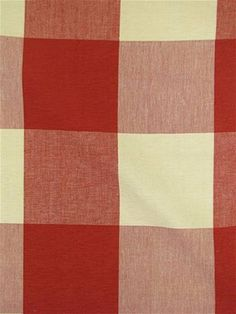 4 Check Tomato Laura Kiran Fabric An Oversized Buffalo Fits Into Any Decor Suitable For Bedding Curtains Slipcovers Upholstery Pillows