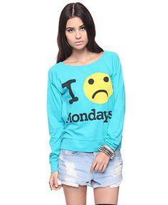 Who loves Mondays?