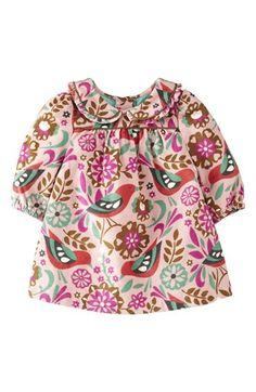 Mini Boden Long Sleeve Corduroy Dress (Baby Girls) | Nordstrom