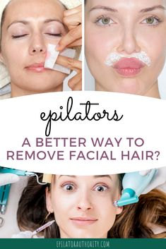 Epilator face tips and basic info: how to use an epilator on face safely. Plus my top five picks for best epilator for women's facial hair. Epilator Tips, Epilator For Face, Best Epilator, Facial Hair Removal Cream, Leg Hair Removal, Face Wax, Face Facial, Waxing Tips, Chin Hair