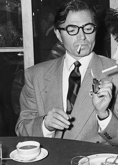 Coffee And Spectacles - James Mason.