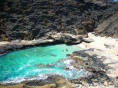 Halona Cove/Cockroach Cove/Halona Beach Cove, Oahu...next to Hanauma Bay.