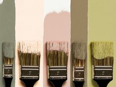 Army Green, Rose, Golden & Plum :This color combo all stems from the army green. This color can obviously stand alone. Palettes Color, Colour Pallete, Color Combos, Earthy Color Palette, Wall Colors, House Colors, Paint Colors, Green Rose, Pink And Green