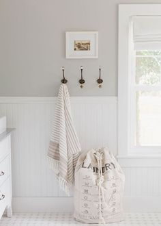 There are so many uses for wall hooks, whether it's in your mudroom to hang your bags or in your bathroom to hang your towels. Add a little personality!