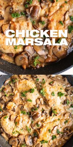 dinner recipes for family . dinner recipes for two . dinner recipes with ground beef . dinner recipes for family main dishes Chicken Mushroom Marsala, Chicken Mushroom Recipes, Recipe Chicken, Butter Chicken, Marsala Mushrooms, Lime Chicken, Easy Chicken Marsala, Healthy Mushroom Recipes, Chicken Marsala Recipe Olive Garden