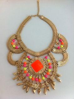 emperor jewel statement necklace