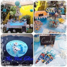 Mesa de dulces de frozen!! The Best Cakes en Facebook